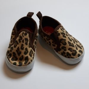 Carters 6-9 Month Cheetah Baby Shoes